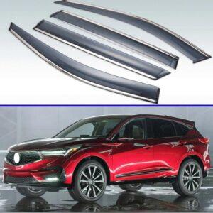 For-Acura-RDX-2013-2018-Plastic-Exterior-Visor-Vent-Shades-Window-Sun-Rain-Guard-Deflector-4pcs