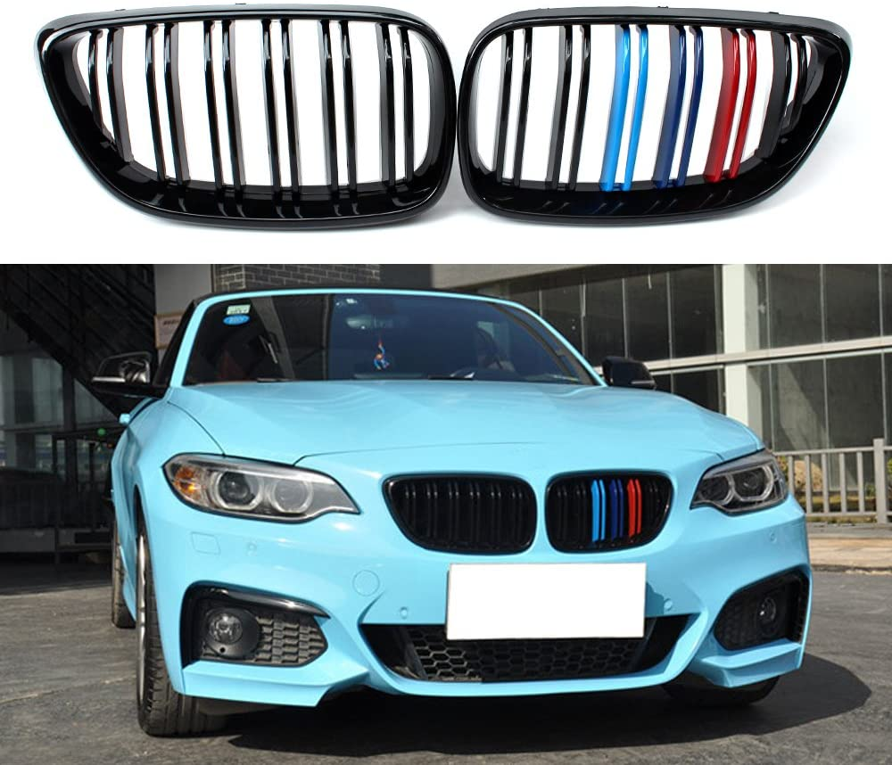 2014-2018 BMW F22/F23 2 SERIES M STYLE TRI-COLOUR KIDNEY